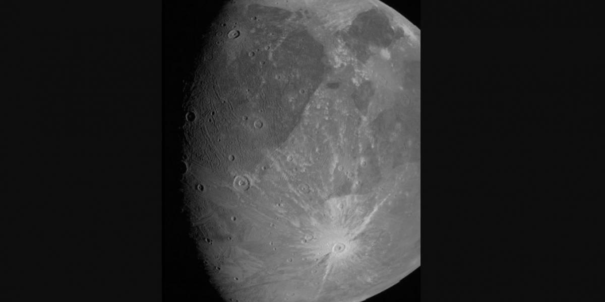 Revelan nuevas fotos de la luna más grande de Júpiter y de todo el Sistema Solar