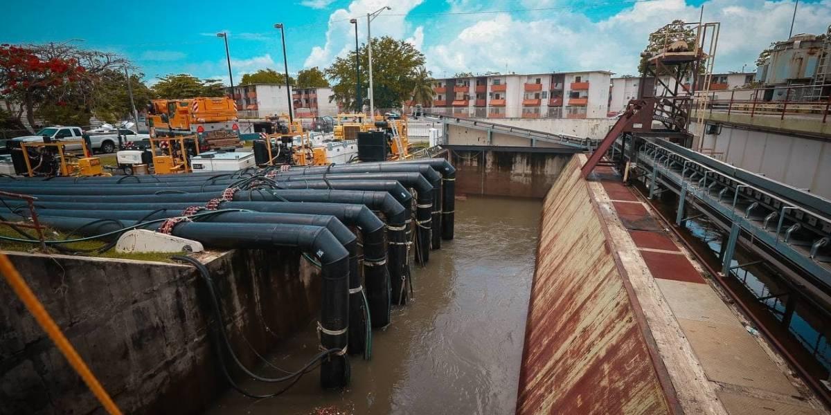 DRNA alquilará bombas ante inundaciones en San Juan
