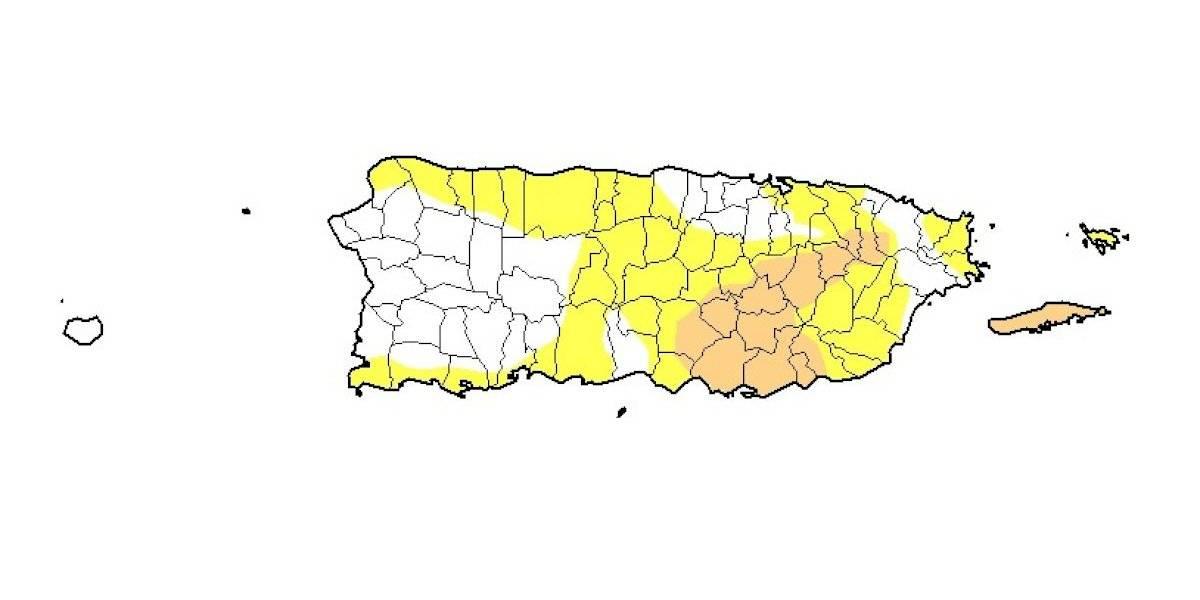 Lluvias recientes reducen el nivel de sequía en Puerto Rico