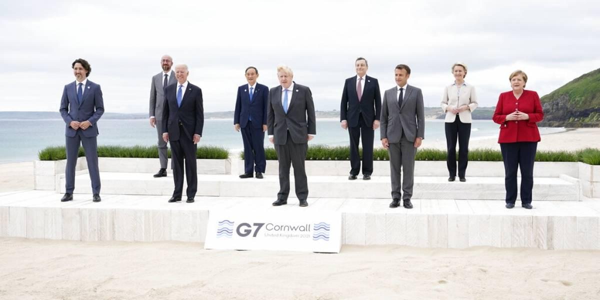 G7 promete compartir vacunas y economía mundial equitativa
