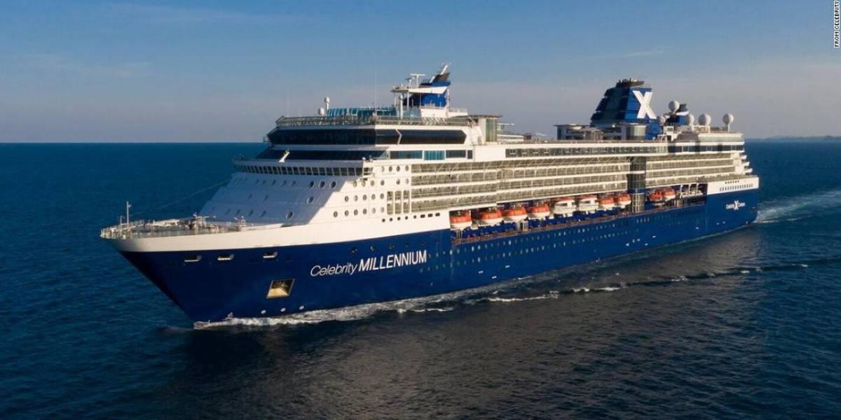 Dan positivo a COVID-19 dos pasajeros a bordo de crucero de Celebrity Cruises