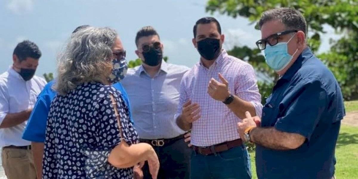 Crean junte en Aguada para enfrentar el tema de la erosión costera en Guaniquilla y Espinar