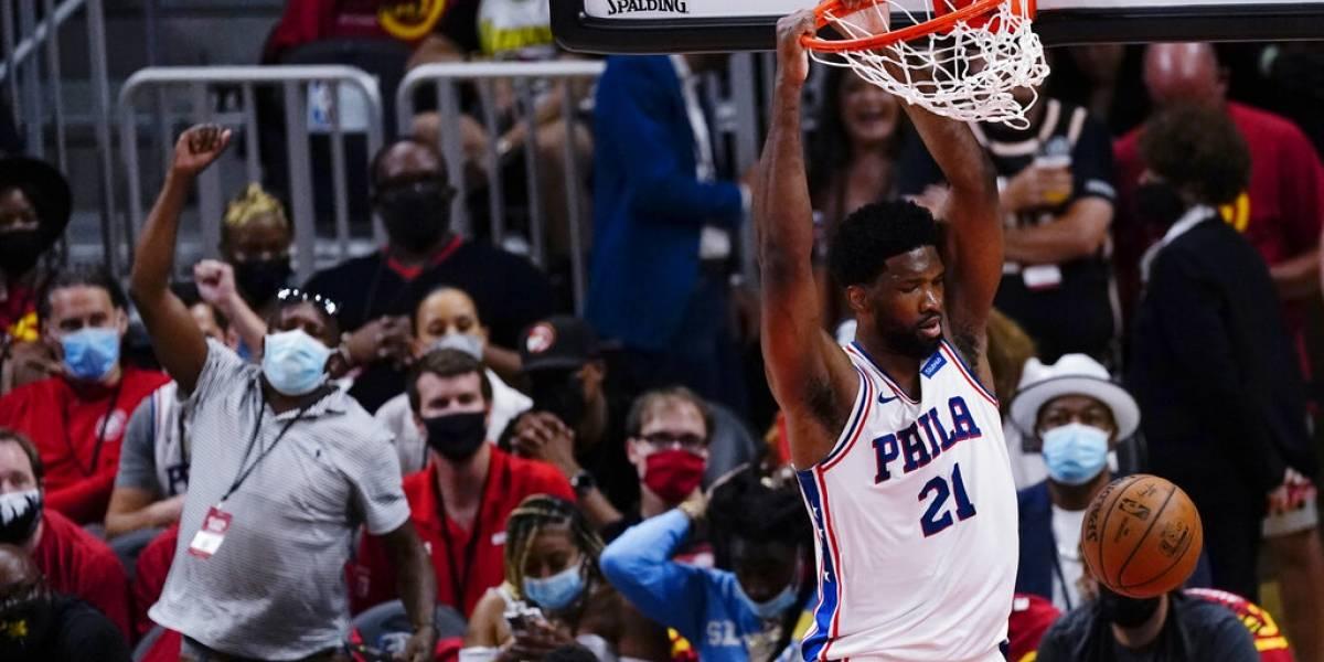 Filadelfia toma ventaja de su serie de playoff en la NBA