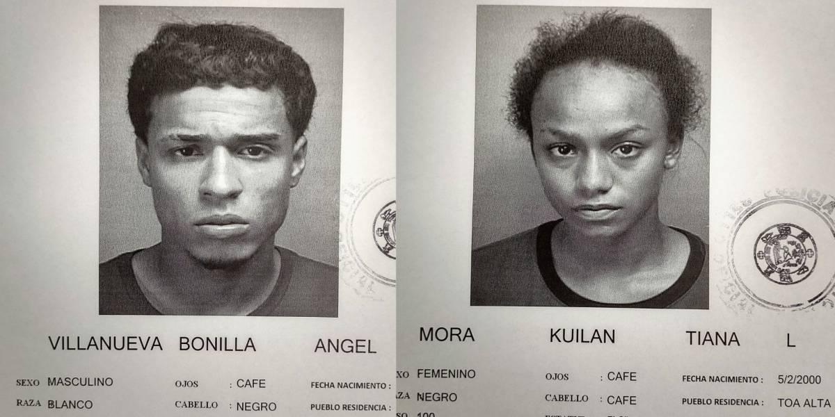 Radican cargos contra pareja de jóvenes tras robo en gasolinera en Vega Alta
