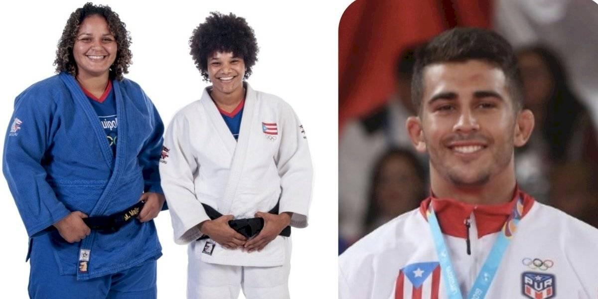Tres judocas boricuas logran pase a las Olimpiadas