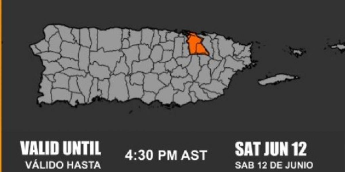 Emiten advertencia de inundaciones para San Juan y Trujillo Alto