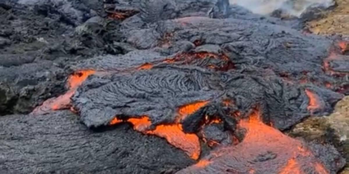 Deborah Martorell comparte su experiencia desde volcán activo en Islandia