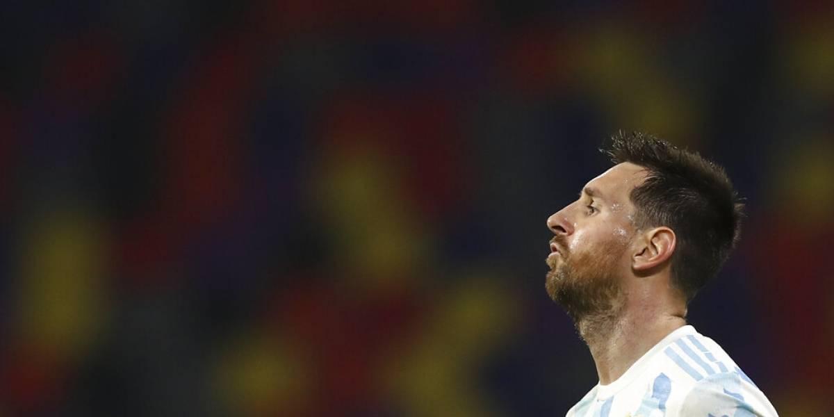 """Messi: """"Mi sueño es ganar un título con Argentina"""""""