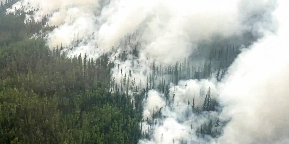 Estallan incendios forestales en el extremo oriente de Rusia