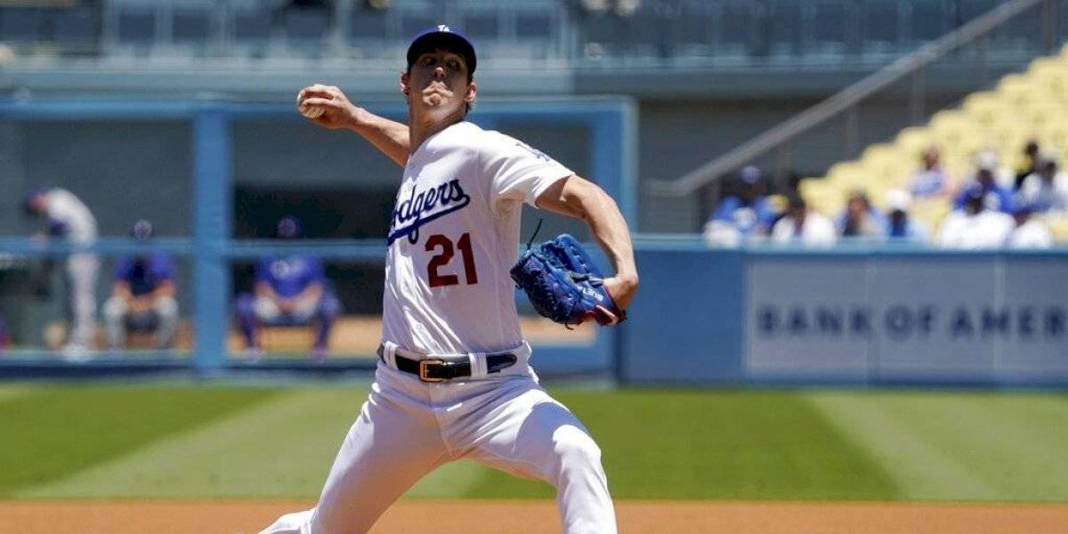 Dodgers vencen a Rangers