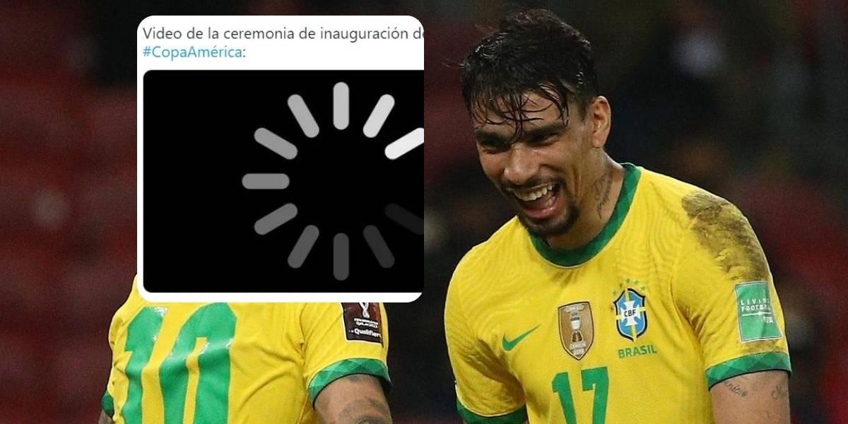 Los mejores memes que dejó la ceremonia de inauguración de la Copa América (aunque no hubo)