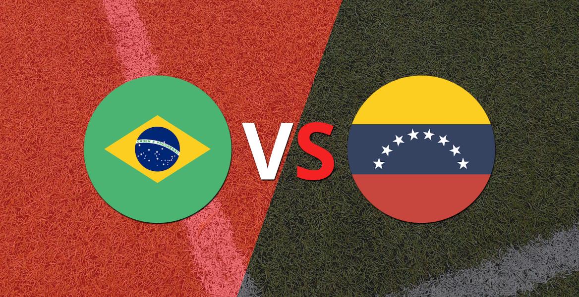Goleada 3 a 0 de Brasil a un Venezuela sin reacción