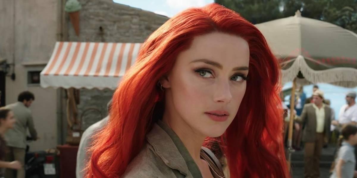 Amber Heard se podría convertir en la actriz mejor pagada de Hollywood por 'Aquaman 2'