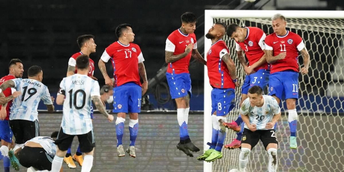 Golazo de Messi no basta; Argentina empata 1-1 con Chile