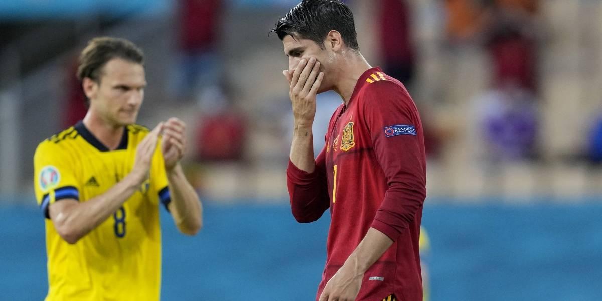 ¡La España más pálida! Empató sin goles con Suecia y decepcionó