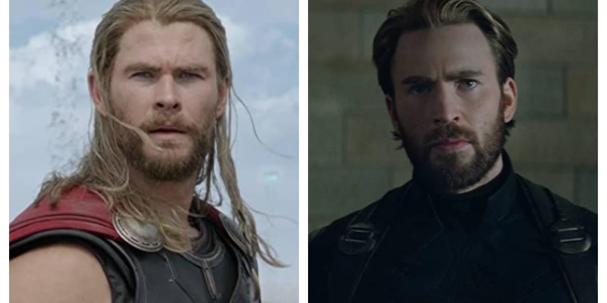 """""""Thor"""" le hace bullying al """"Capitán América"""" en su cumpleaños número 40"""