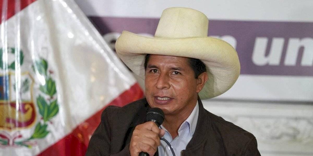 Candidato presidencial Pedro Castillo rechaza pedidos de anular comicios en Perú
