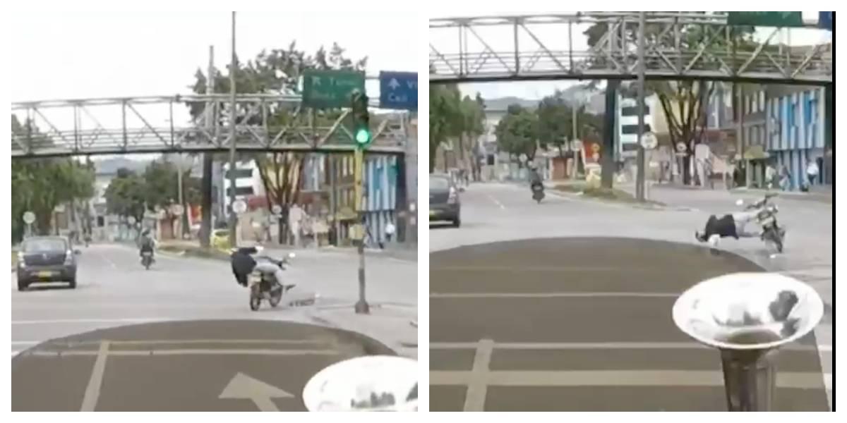 VIDEO: Asesinan a hombre que intentaba recuperar la moto que le robaron