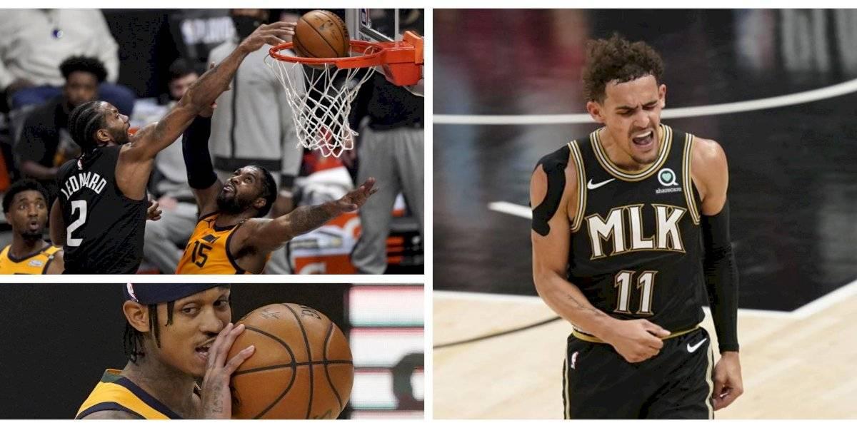 NBA Playoffs: Atlanta y los Clippers empataron sus series