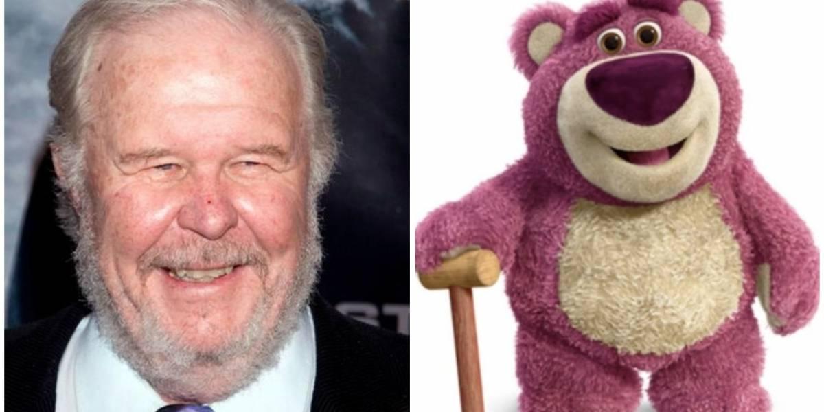 Falleció Ned Beatty, actor que le dio voz a Lotso en 'Toy Story'