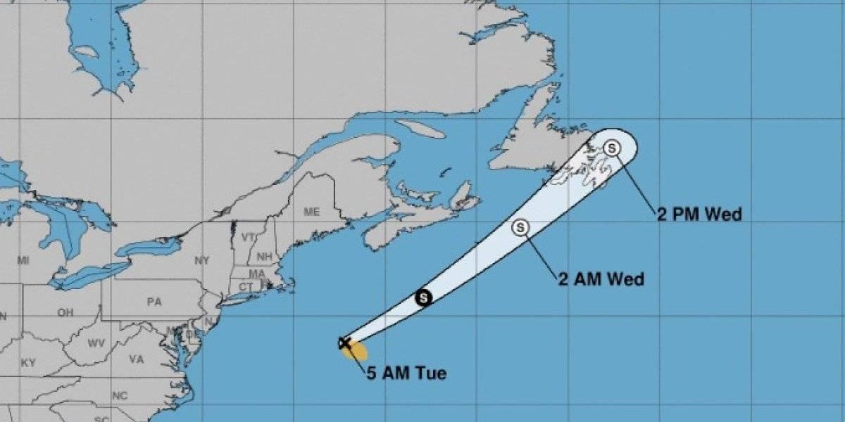 Tormenta tropical Bill gana algo de fuerza en el Atlántico