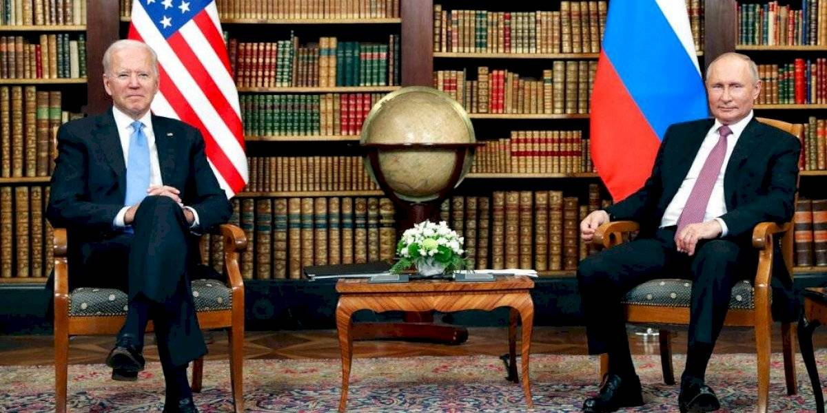 Sólo negocios en cumbre Biden-Putin; sin abrazos ni críticas