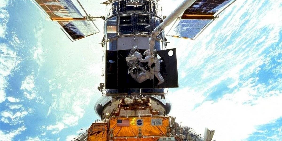 Termina la reparación del telescopio espacial Hubble