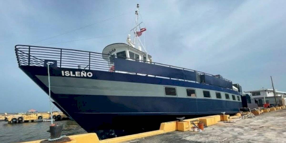 """Regresa embarcación el """"Isleño"""" a Vieques y Culebra"""