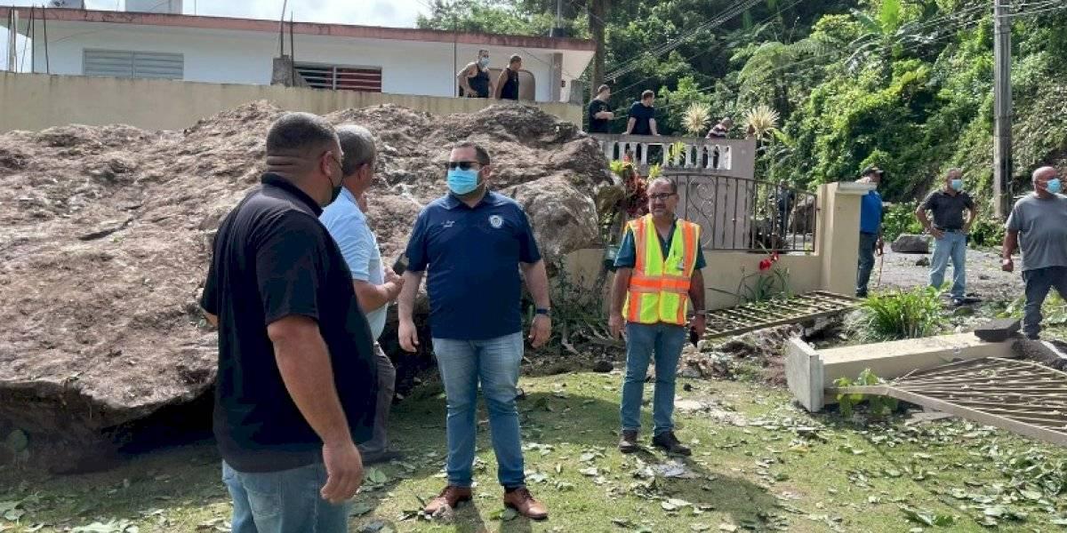 Preocupado el alcalde de Ciales por posibles nuevos derrumbes en ese municipio