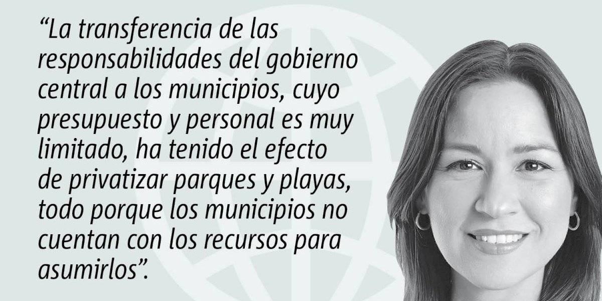 Opinión de Rosa Seguí: No a la municipalización