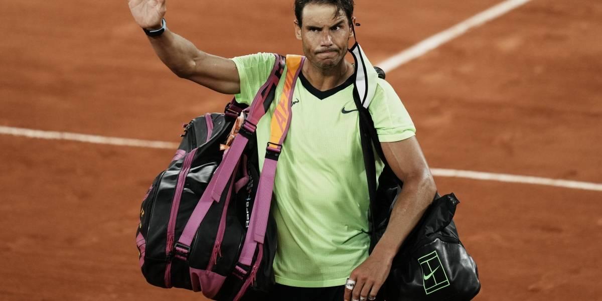 Rafael Nadal no participará en la próxima edición de Wimbledon ni en los Juegos Olímpicos