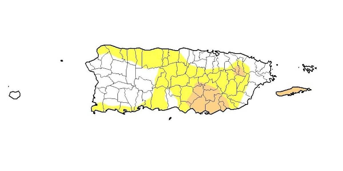 Continúa reduciéndose el área bajo sequía en Puerto Rico