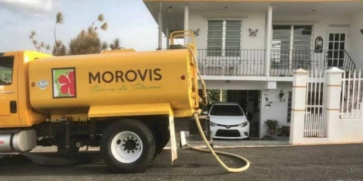 Cuatro barrios y un residencial de Morovis siguen sin agua
