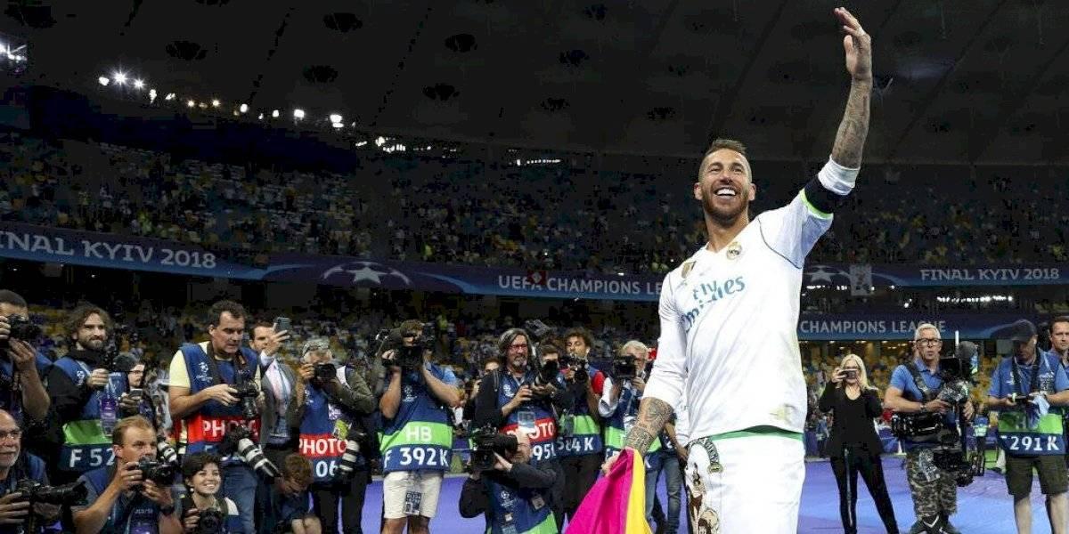 Sergio Ramos asegura entre lágrimas que deseaba quedarse en el Real Madrid