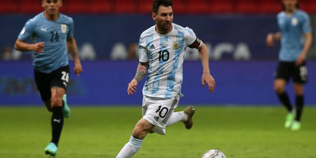 Argentina se lleva el Clásico tras vencer a Uruguay en Copa América