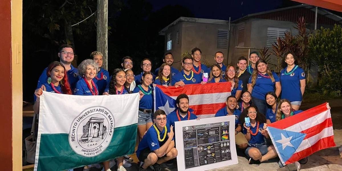 Le sacan en cara a Pierluisi recortes a la UPR tras felicitar a equipo del RUM que ganó premio de la NASA