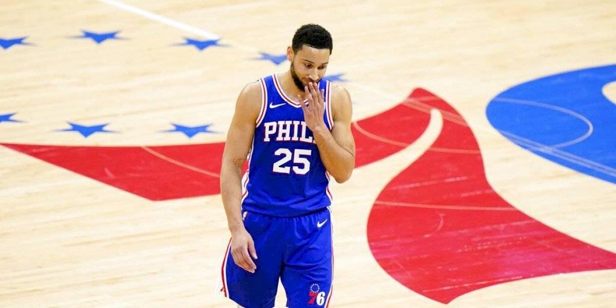 Incierto el futuro de Simmons tras fracaso de los 76ers