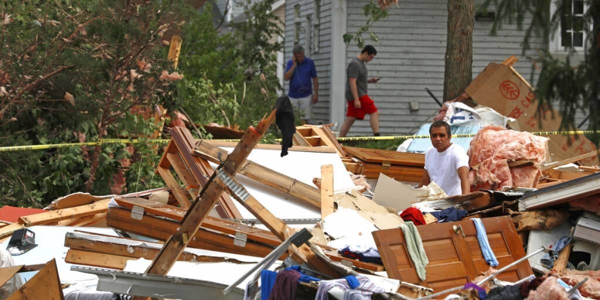 Tornado que destrozó suburbio de Chicago tenía vientos de 140 millas por hora