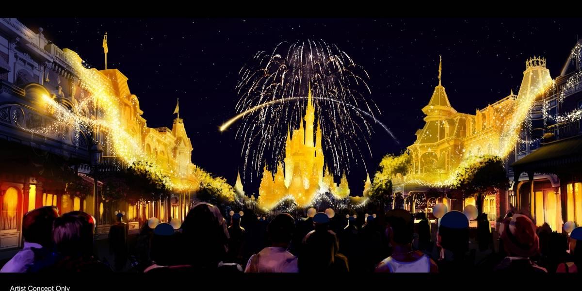 Anuncian espectáculos nocturnos en parques de Disney