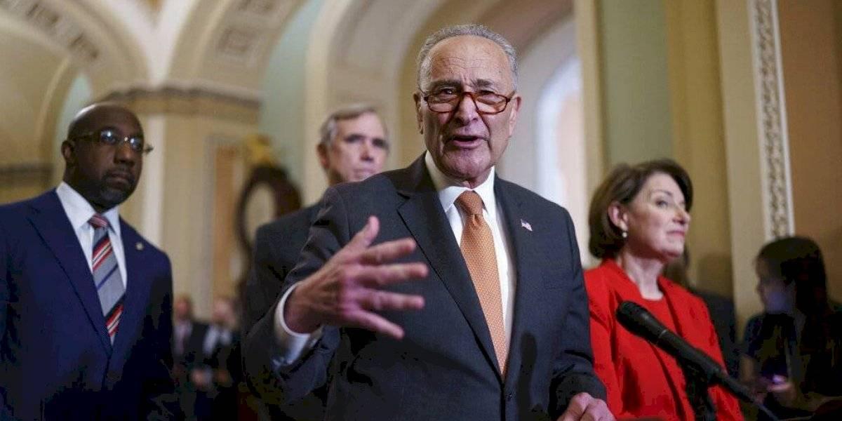 Republicanos en el Senado bloquean proyecto demócrata sobre reforma electoral