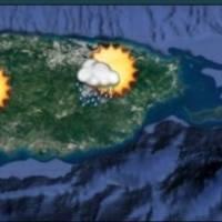 Se esperan aguaceros para el este, interior y oeste de Puerto Rico