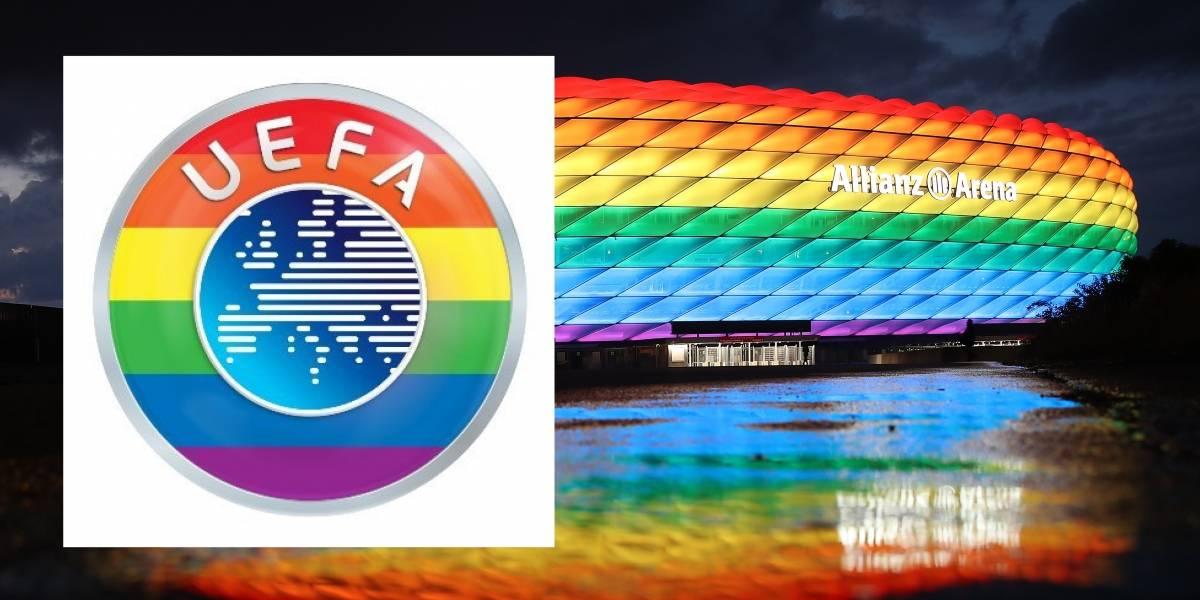 Ante las críticas, ahora UEFA dice que sí apoya a la comunidad gay