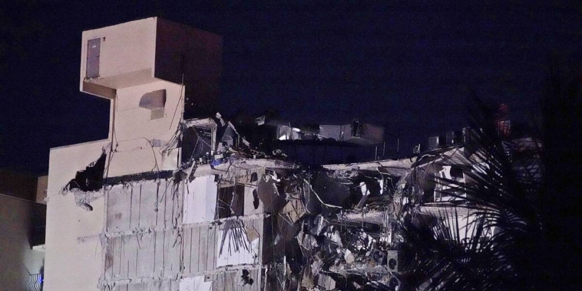 Sobre 50 personas desaparecidas en edificio colapsado en Miami