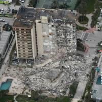 Demolición de parte restante de edificio en Miami será entre las 10:00 p.m. y 3:00 a.m.