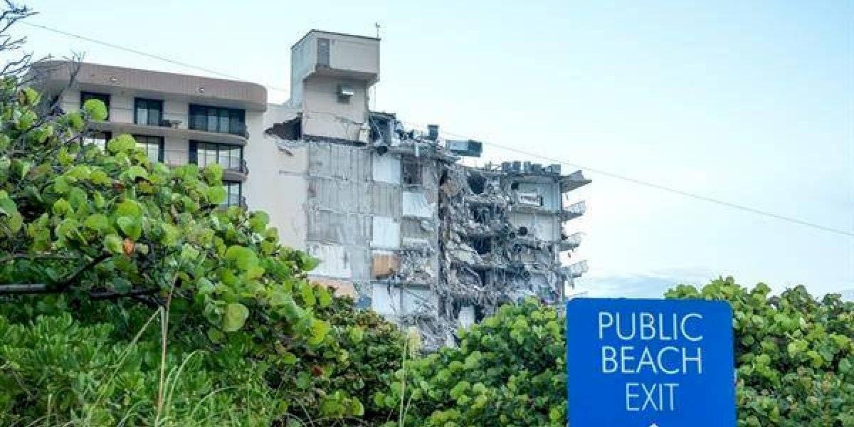 Aumentan a 99 las personas desaparecidas de edificio colapsado en Miami