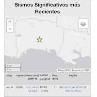Se reporta temblor sentido en Lajas