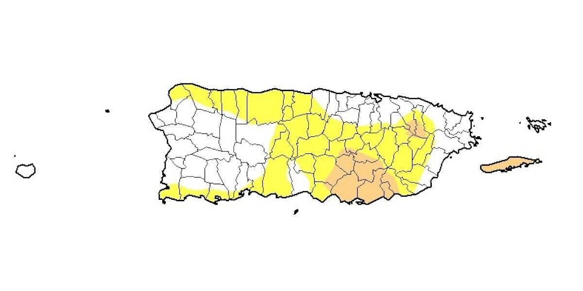 Se mantiene estable el área bajo sequía en Puerto Rico