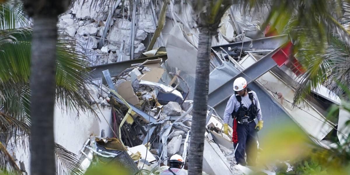 Edificio caído en Miami tenía inquilinos de todo el mundo