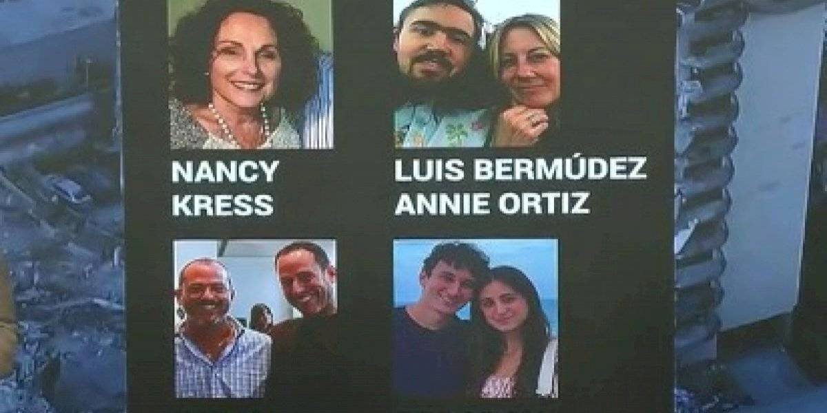 Estos son los rostros de los boricuas desaparecidos tras colapso de edificio en Miami