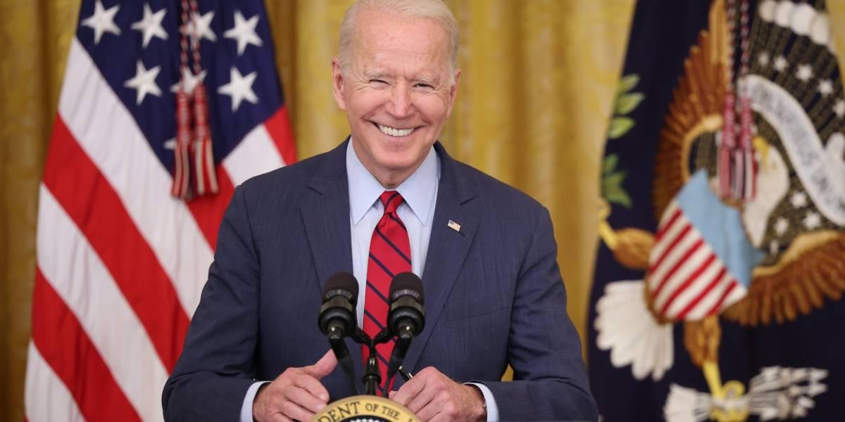 """Joe Biden: """"El día del orgullo gay está de vuelta en la Casa Blanca"""""""